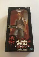 1998 Hasbro Star Wars Episode I JAR JAR BINKS 12 inch 1/6 Scale Figure NIB