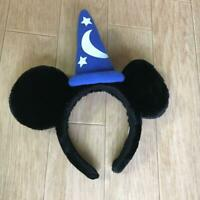 Tokyo Disney Resort Mickey Mouse Headband 2019 wizard Apprentice Hat blue