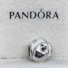 Sterling Silver Charm OLAF FROZEN Disney ALE S925 Genuine Pandora bag