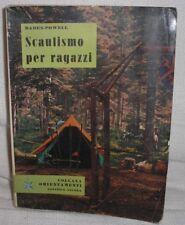 SCAUTISMO PER RAGAZZI BADEN-POWELL EDITRICE ANCORA 1964 COLLANA ORIENTAMENTI