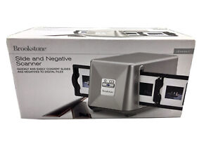 Brookstone iConvert Instant Slide & Negative Scanner Brand New FREE SHIPPING