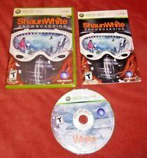 Shaun White Snowboarding (Microsoft Xbox 360, 2008) Complete w/ manual *TESTED*