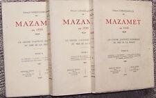 MAZAMET en 1930 3 vol. 1931 TBE illustr. cartes photos CORMOULS-HOULES Tarn Occi