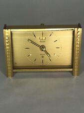 Jaeger LeCoultre Recital Swiss Alarm Clock
