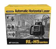 Topcon Rl H5a Horizontal Self Leveling Rotary Laser Kit With Ls 80l Receiver