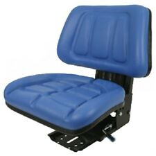 BLUE FORD / NEW HOLLAND 600, 601, 800, 801 FULLBACK TRACTOR SUSPENSION SEAT #AIU