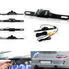 CMOS Car Rear View Reverse Backup Camera Parking Night Vision Waterproof 7LED SU
