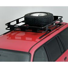 Surco Spare Tire Carrier for Safari Rack Black ST100