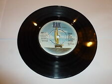 """ARROWS - Touch Too Much - 1974 UK 7"""" vinyl single with intact four prong centre"""