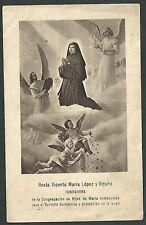 Estampa antigua Beata Vicenta Maria andachtsbild santino holy card santini