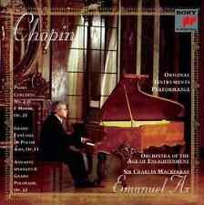 "EMANUEL AX ""Chopin: Piano Concerto No. 2 / Grand Fantasia"" (CD 1998) *EXCELLENT*"