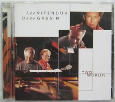 Two Worlds Lee Ritenour Dave Grusin CD Decca 012-157-960-2 2000