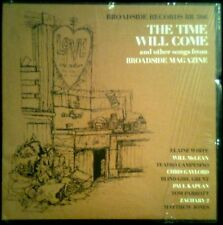 THE TIME WILL COME And Other Songs - USA LP Broadside 1967 - Rare Janis Ian
