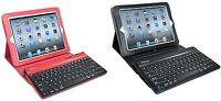 iHome Bluetooth Keyboard and Leather Case for iPad 2 and iPad 3 IH-IP2100