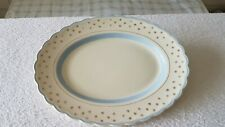 A Wood & Sons England Medium Oval Plate