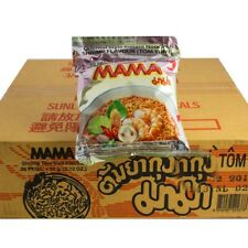 1 carton Mama Shrimp Instant nouille soupe 30 x 60 g Tom igname Yum de