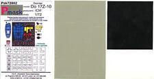 Model Maker 1/72 DORNIER Do-17Z-10 Paint Mask Set Canopy & Markings