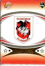 St George Illawarra Dragons Team Set Modern (1970-Now) NRL & Rugby League Trading Cards