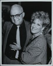 George Christy (Reporter), Bette Midler ORIGINAL PHOTO HOLLYWOOD Candid 2655