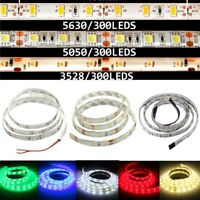 1/3/5M 3528/5050 SMD LED Flexible Strip Light Bar 12V Waterproof Party Lamp Bar