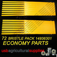 72x COUNTAX WESTWOOD BRISTLE BRUSHES PGC SWEEPER 14936301 14898101 NEXT DAY
