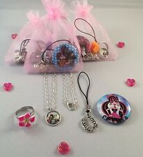 Glitzy Monster high theme party/gift loot bag FREE P & P ON 5 OR MORE ITEMS