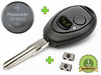 KEY REPAIR SET FOR LAND ROVER DISCOVERY DISCO TD5 + CR2032 BATTERY +2x BUTTONS
