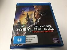 BLURAY DISC BABYLON A.D. RAW AND UNCUT