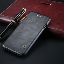 G-case Genuine Leather Skin Flip Cover Wallet Case For Apple iPhone 6 6S 7 Plus