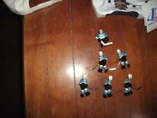 Stiga 2001-02 San Jose Sharks Table Rod Hockey Players new + 2 pucks + 3 cards