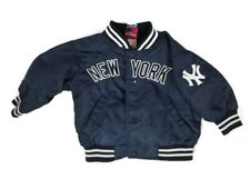 New York Yankees Vintage Satin Jacket Baby Kids Size 12Mo VGUC