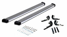 2008-2013 Jeep Liberty aluminum side step nerf boards bars in polished aluminum