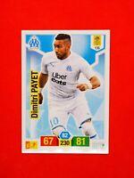 Carte Panini ADRENALYN XL Ligue 1 2019 - 2020 DIMITRI PAYET OM Marseille