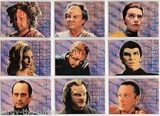Star Trek Voyager Season 1 Series 1 Trading Card Subset Xenobio Foil S1-9