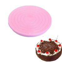 14CM Cake Decorating Rotating Turntable Display Stand Icing Baking Cookies Party