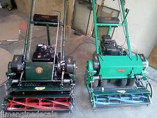 Locke Greens Mower reel decal vintage Briggs power