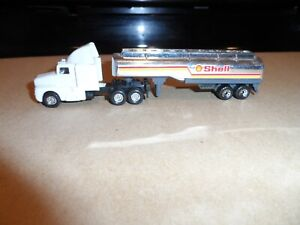 HO SCALE TRUCK AND TANK TRAILER SHELL