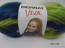 Bernat Viva Yarn ~ Colour: Caribbean ~ 100 Grams ~ 3.5 oz ~ #6 Super Bulky