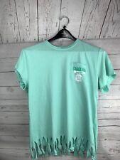 Knights Apparel large South Carolina Gamecocks mint fringe t-shirt