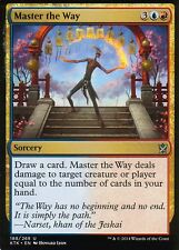 4x master the way | nm/m | Khan of tarkir | Magic mtg