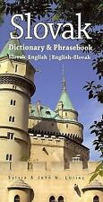 English-Slovak Dictionary by John M. Lorinc and Sylvia Lorino (1998, Paperback)