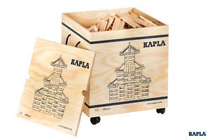 KAPLA 1000er Box in Holzkiste mit Rollen NEU und OVP