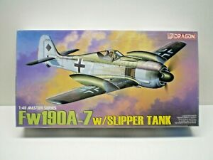 Dragon Fw190A-7 w/ Slipper Tank 1/48 Plastic Model Kit # 5545 SEALED
