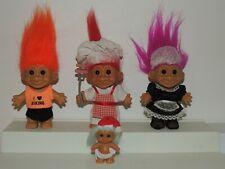 New ListingVintage Russ 5� Trolls Lot Maid Chef Biker Baby
