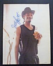 Snoop Dog 1997 Signed Autographed Magazine Page Photo PSA Beckett Guaranteed 1