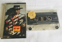 Stevie Ray Vaughan And Double Trouble Texas Flood Original Music Cassette Tape J