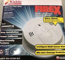 Kidde KN-COSM-IBA Combination Carbon Monoxide & Smoke Alarm, BRAND NEW, 10 year