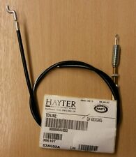Original Hayter Harrier 41 Clutch Cable drives the roller HA306107 306107 907#X