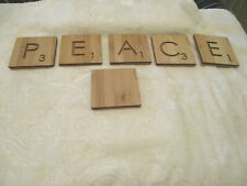 Coasters~Barware~nogucci~ Scrabble Coasters~6 qty.