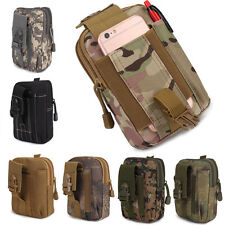 Outdoor Military Tactical Waist Pack Belt Bag Camping Hiking Molle Pouch Wallet